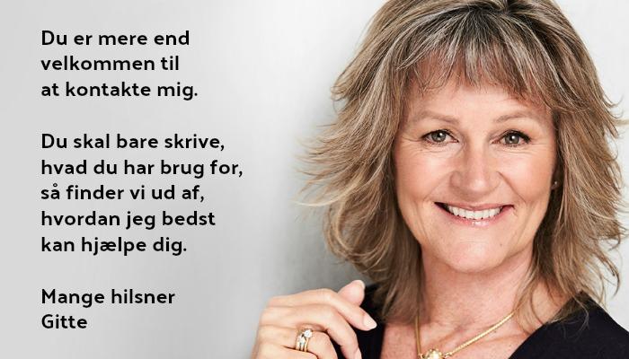 Kontakt Gitte Mandrup