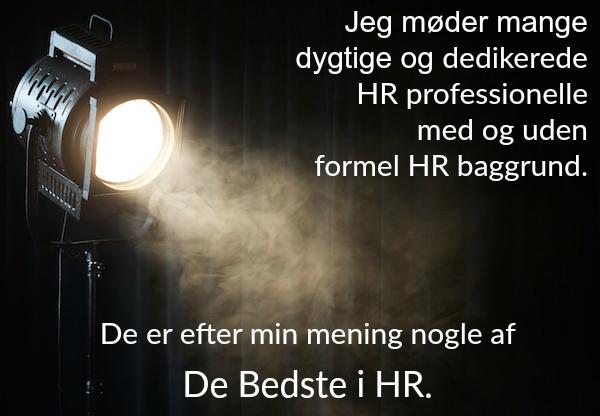 Spot på De Bedste i HR @Gitte Mandrup