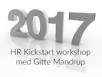 Deltag på 2017 HR Kickstart workshop