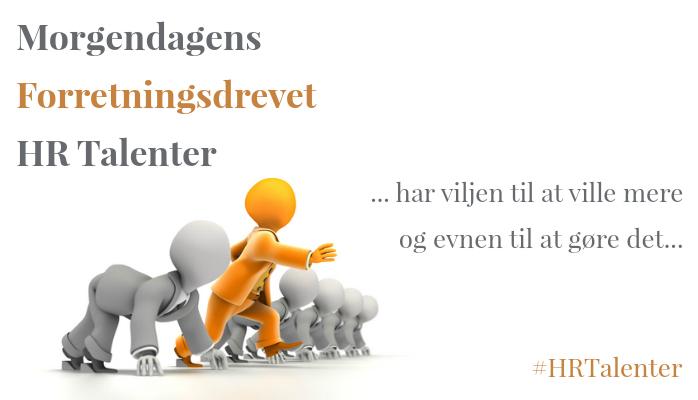 Morgendagens Forretningsdrevet HR Talenter @ Gitte Mandrup