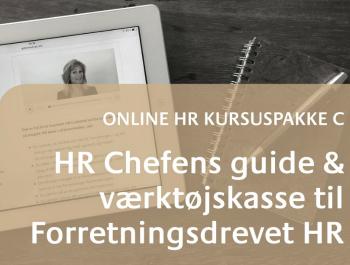 Online HR Kursus HR Chef 2016