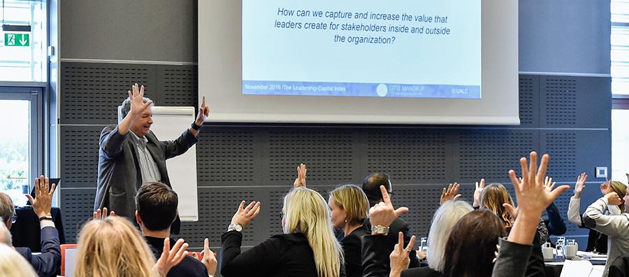 Dave Ulrich Leadership Capital workshop 2016 @ Gitte Mandrup