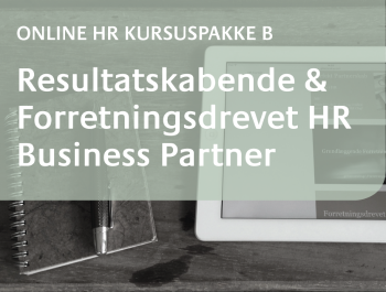 Online HR Kursus HR Business Partner 2016