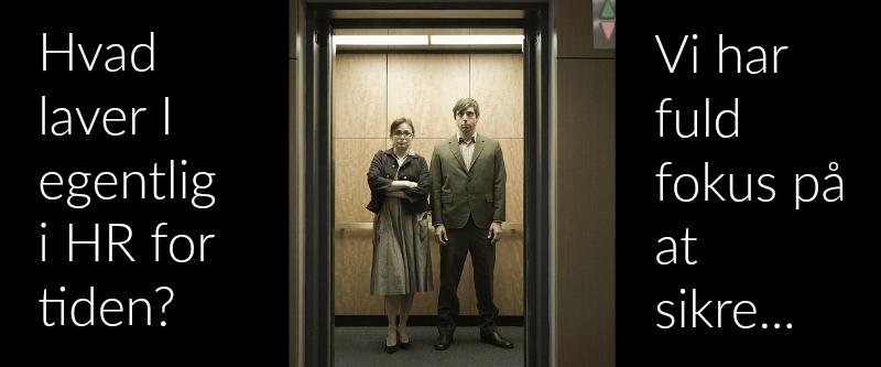 HR elevatortale = HR Value Proposition @ Gitte Mandrup 2017