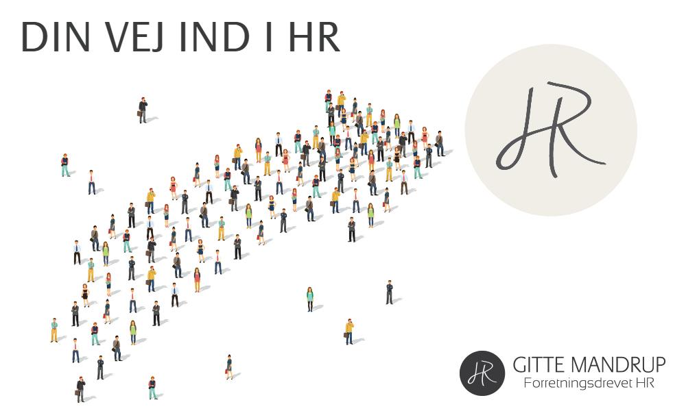 Find DIN VEJ IND I HR - klik & læs om forløbet