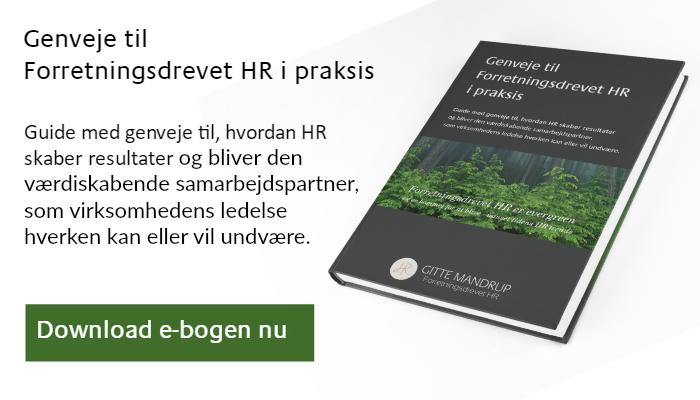 Download eGuide med Genveje til Forretningsdrevet HR