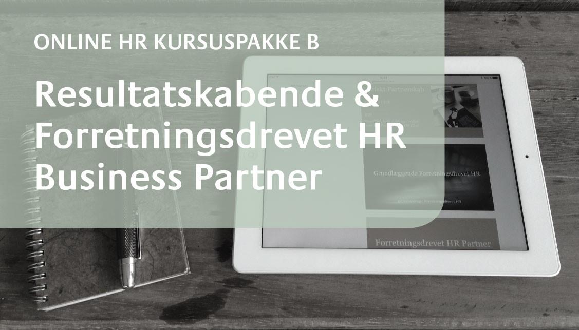 Få adgang til udviklingsforløb for HR Business Partner
