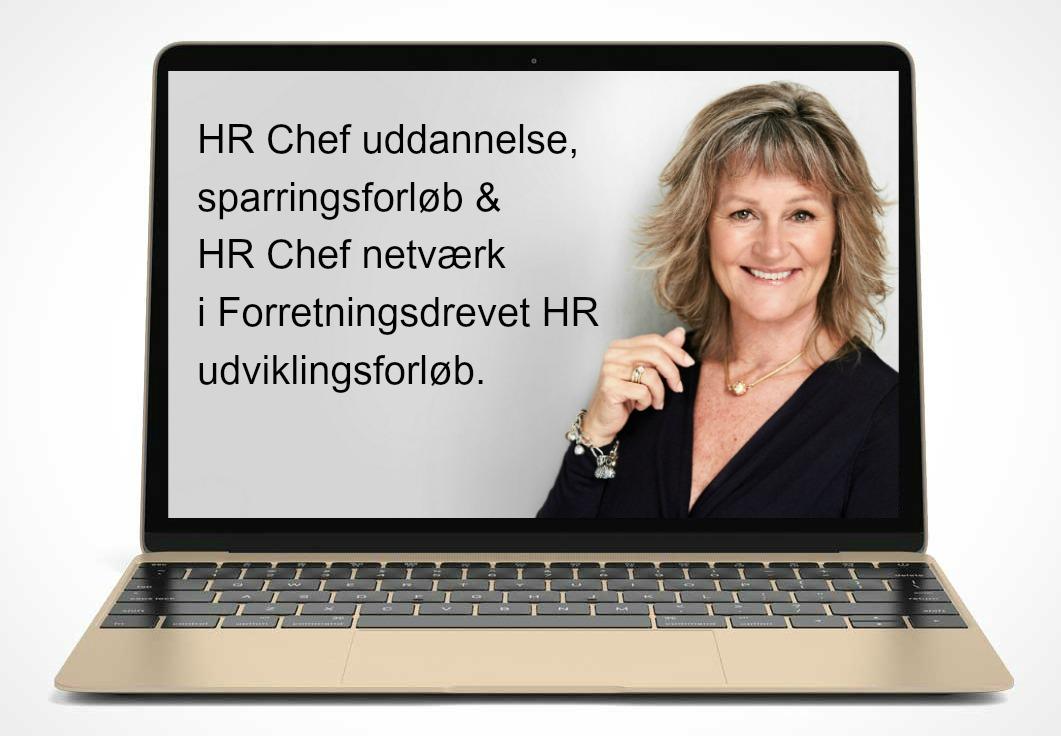 HR Chef uddannelse, sparring, online fællesskab & live netværk