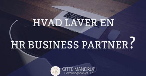 Hvad laver en HR Business Partner?