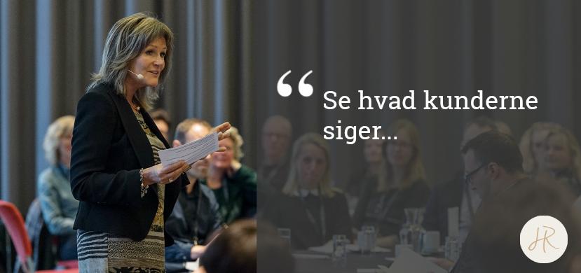 Gitte Mandrup kunder & udtalelser