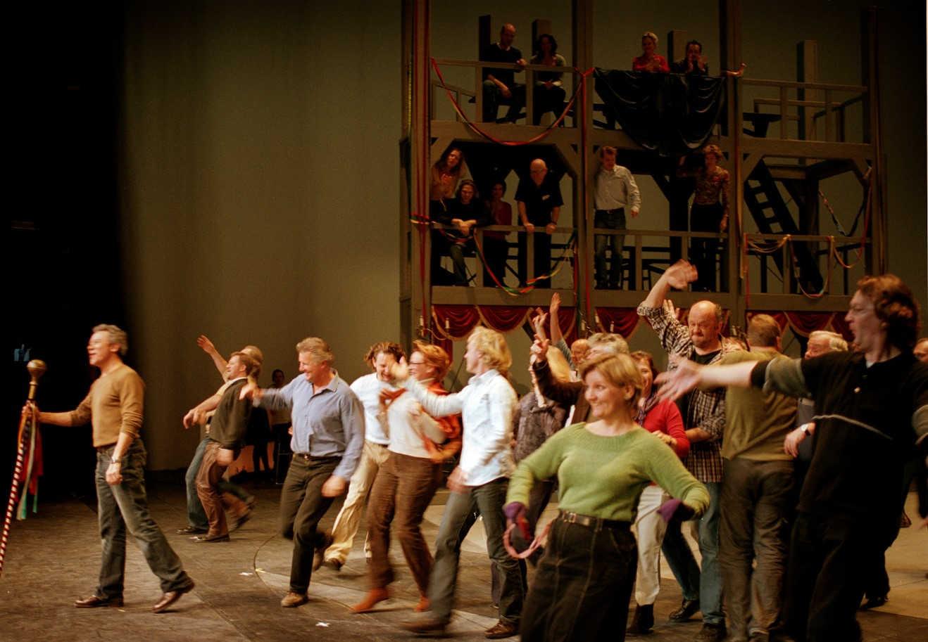 Det Kongelige Teater - dagen før åbning af operaen
