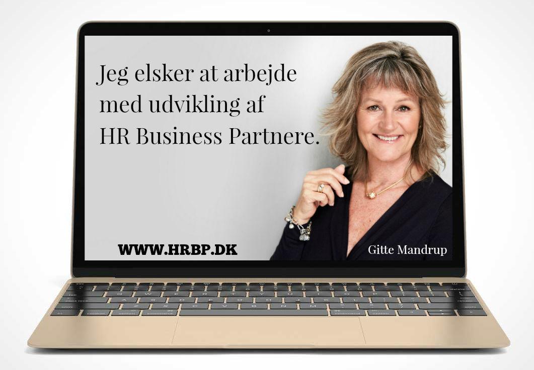 HR Business Partner uddannelse med Gitte Mandrup