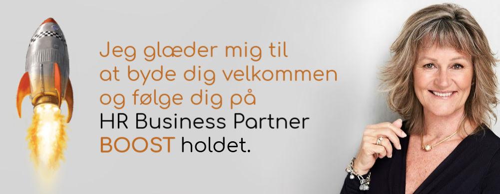 Book din plads på HR Business Partner BOOST holdet