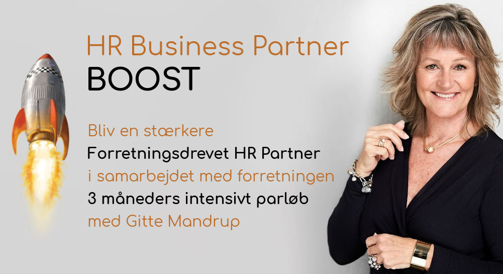 HR Business Partner BOOST starter 1. april 2019