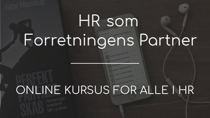 HR som Forretningens partner - Online kursus for alle i HR