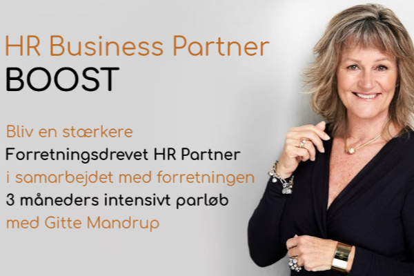 Intensivt og individuelt forløb for HR Business Partnere