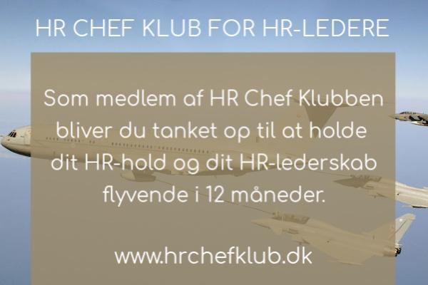Vær med i HR Chef Klubben og hold dig flyvende sammen med dit HR-hold.