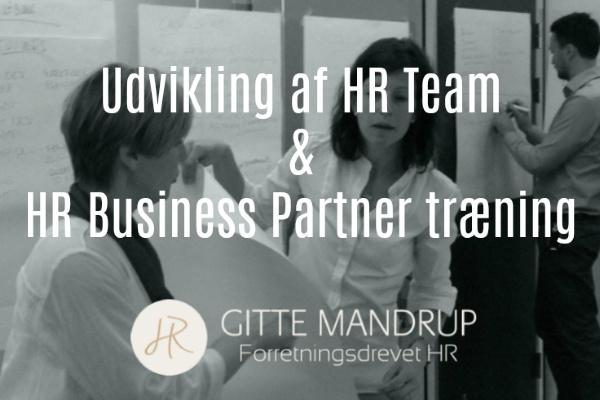 Fælles udviklingsforløb for HR teamet