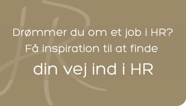 Find din vej ind i HR