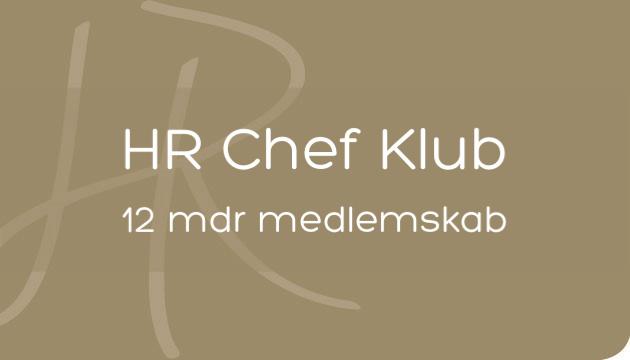 HR Chef Klub med tæt opfølgning i 12 mdr