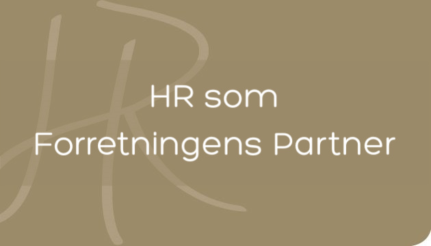 Forretningsdrevet HR Basis for alle i HR