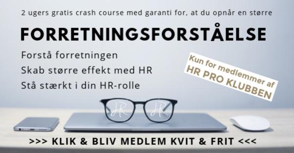 Bliv medlem af HR Pro Klubben i dag