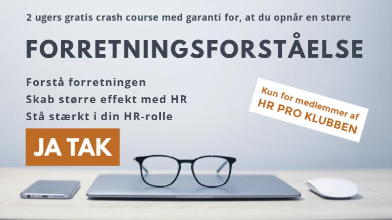 Bliv medlem af HR Pro Klubben i dag - kvit & frit